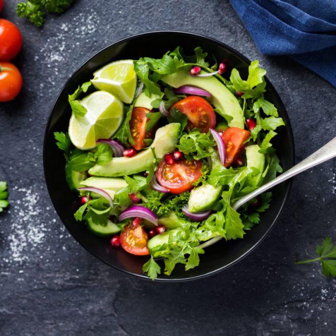 Салат с авокадо и помидорами - рецепт с фотографиями - patee. рецепты