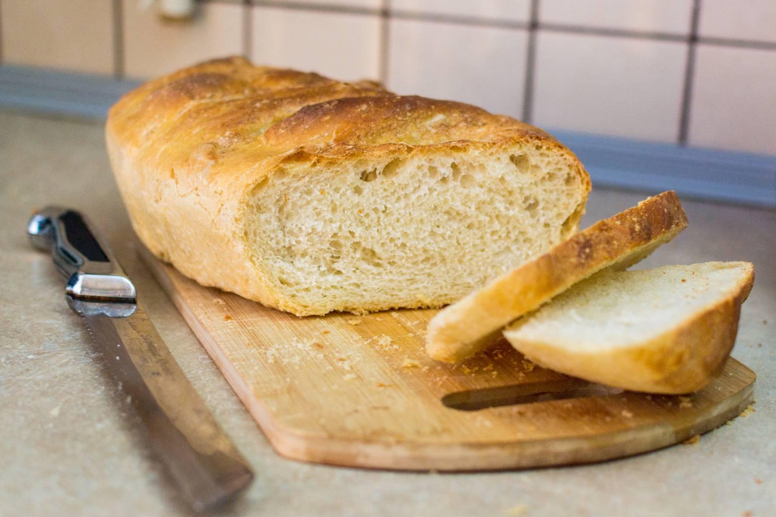 Рецепт простого домашнего хлеба в духовке - 8 пошаговых фото в рецепте
