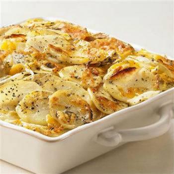 Гратен из картофеля классический рецепт с фото