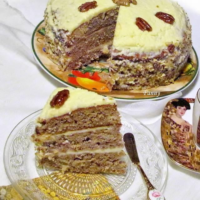 Торт «колибри»