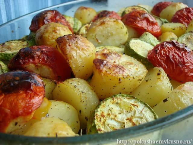 Овощи запеченные в духовке: фантастически вкусные рецепты
