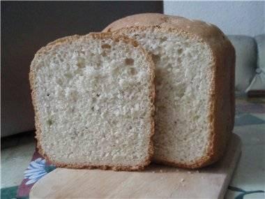 Хлеб с укропом и сыром в хлебопечке