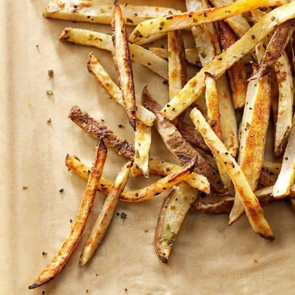 Картошка фри в духовке со специями