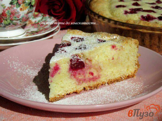 Пирог с вишней ко дню влюблённых