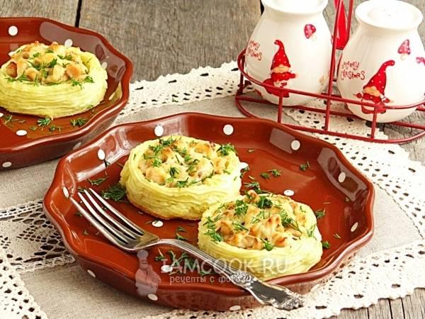 Картофельные гнезда с фаршем – это красиво!  лучшие рецепты блюда для семейного ужина и торжества: готовим гнезда с фаршем