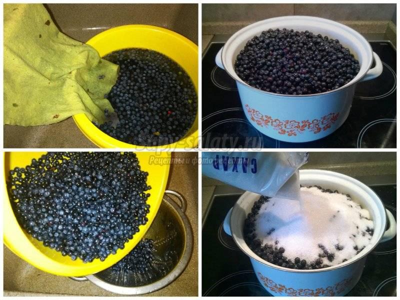 Черника с сахаром на зиму без варки: рецепты приготовления