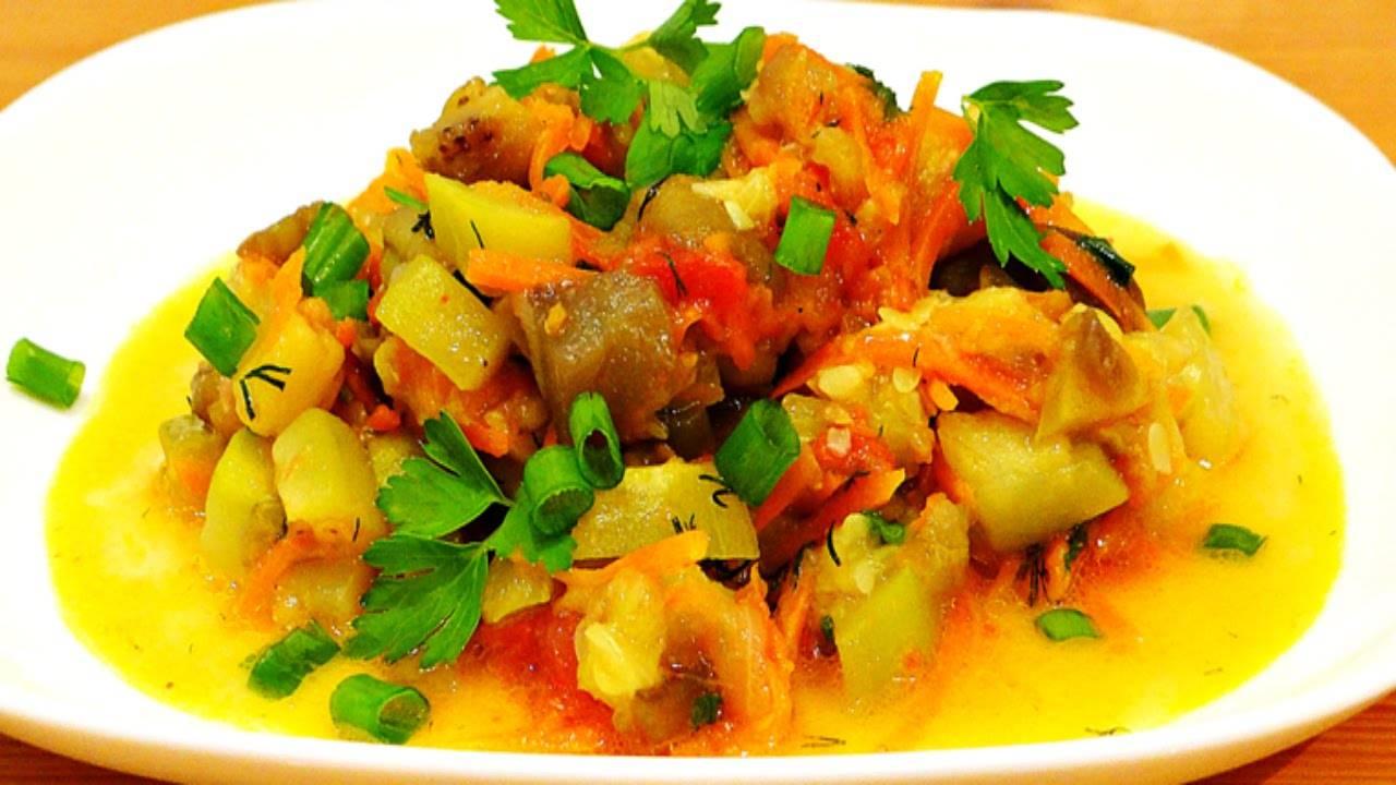 Кабачки тушеные с грибами. пошаговый рецепт с фото • кушать нет