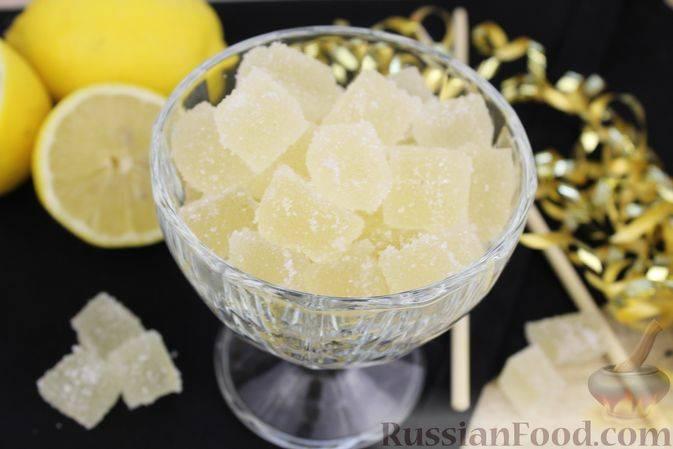 Яблочно-лимонный мармелад