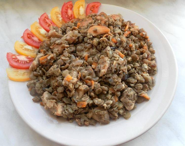 Чечевица с курицей: рецепты в кастрюле или казане, на сковороде, в духовке, в мультиварке - onwomen.ru