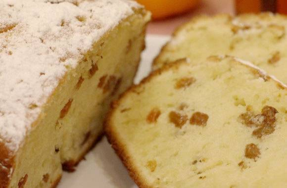 Апельсиновый кекс в хлебопечке панасоник