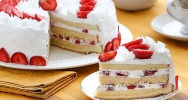Бисквитный торт с клубникой и другими ягодами: рецепты с фото. торт с ягодами - рецепт чадейки