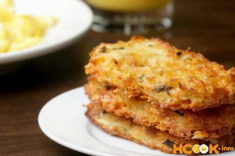 Рецепты драников из картофеля с сыром