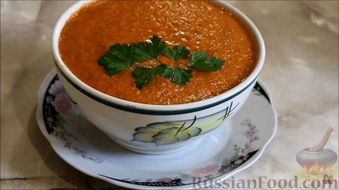 Суп гаспачо: 7 рецептов по-испански |