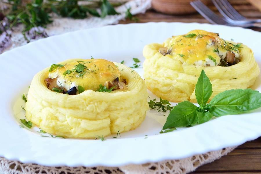 Картофельные гнезда: 10 оригинальных рецептов |