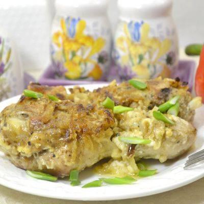 Куриные ножки с яблоками – куриные ножки с яблоками в духовке