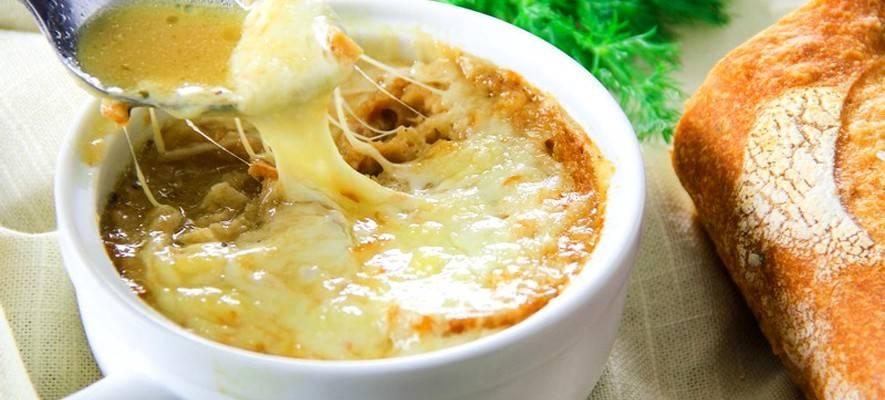 Луковый суп по-французски - классический и авторский рецепты