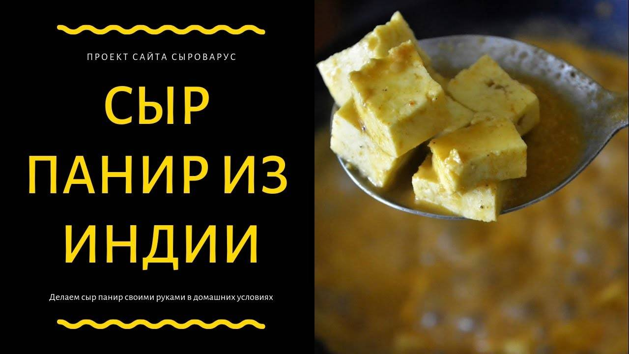 Индийский сыр панир рецепт: индийский сыр «панир» в домашних условиях – готовим индийский сыр панир в домашних условиях