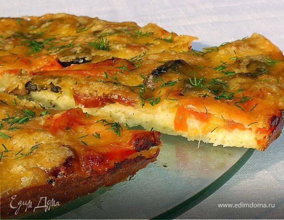 Кабачковая пицца. пошаговый рецепт с фото