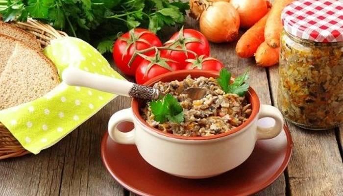 Рецепт грибной икры из шампиньонов