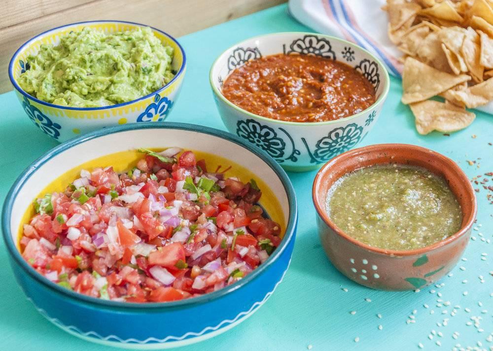 Яркий мексиканец — соус сальса