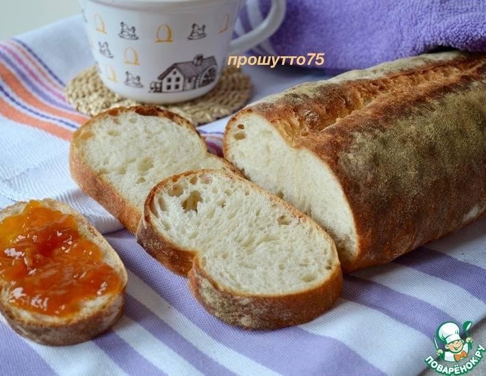 Итальянский белый хлеб