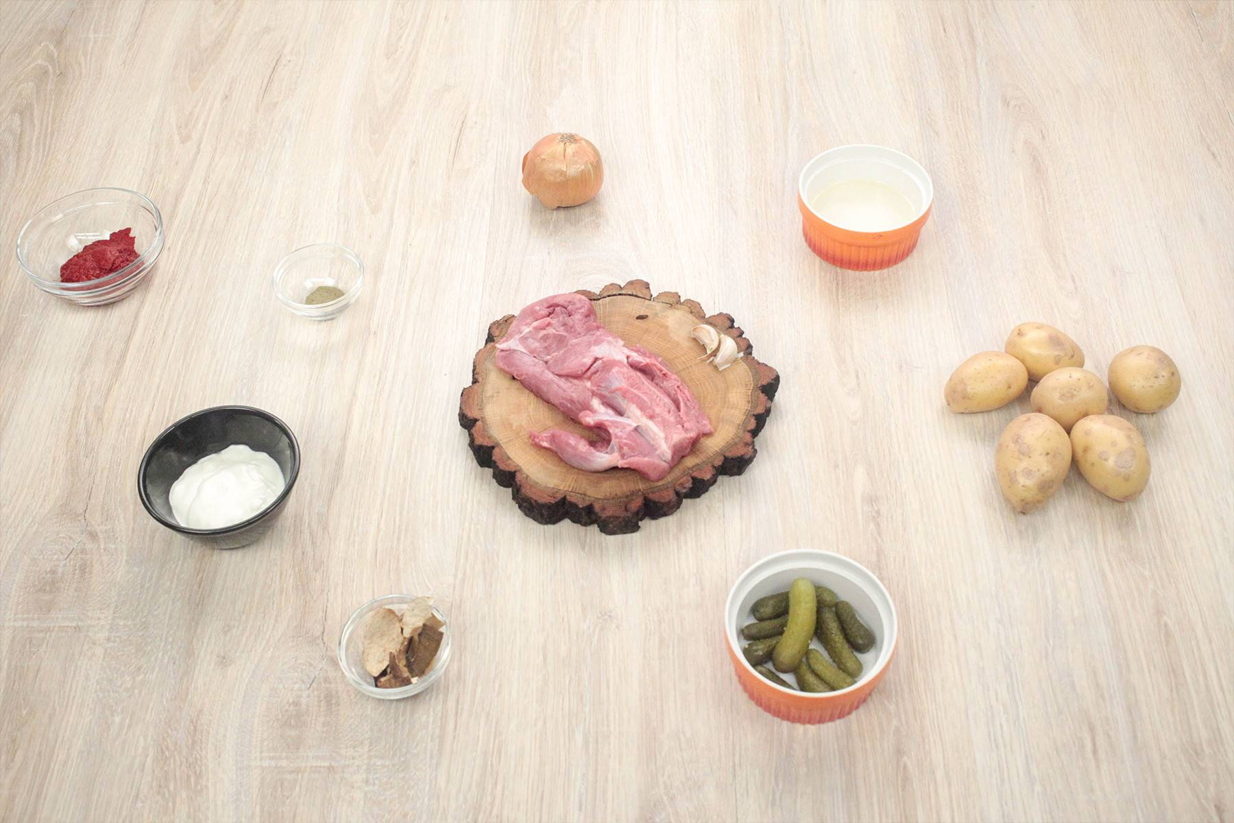 Блюдо картошка по деревенски