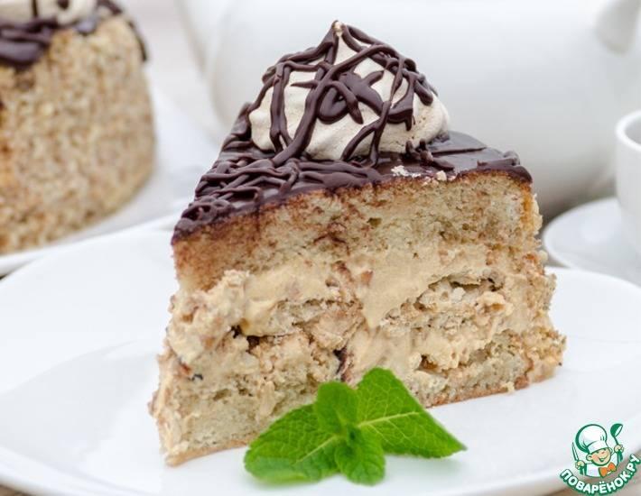 Домашний пирог с нежным сливочным кремом