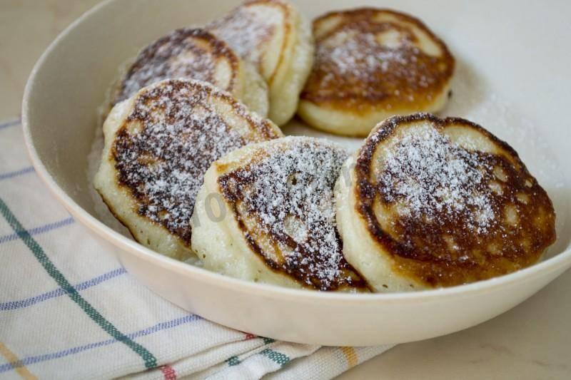 Оладьи из простокваши вкусные и пышные рецепт