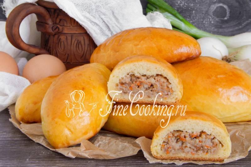 Булочки с мясом - рецепт с фотографиями - patee. рецепты