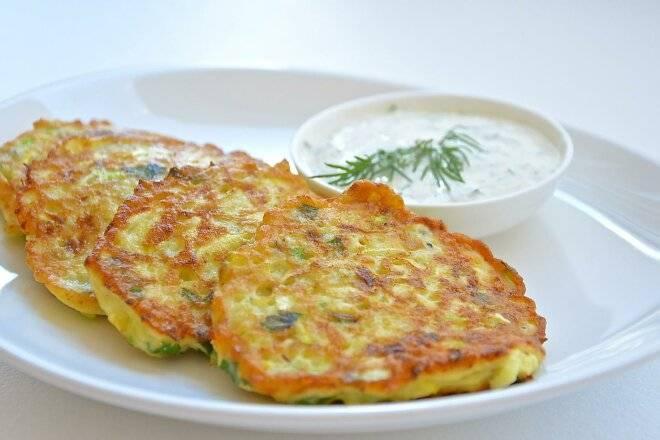 Кабачковые оладьи - простой и вкусный рецепт аппетитного блюда