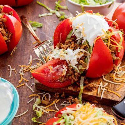 Рис с кабачками и помидорами