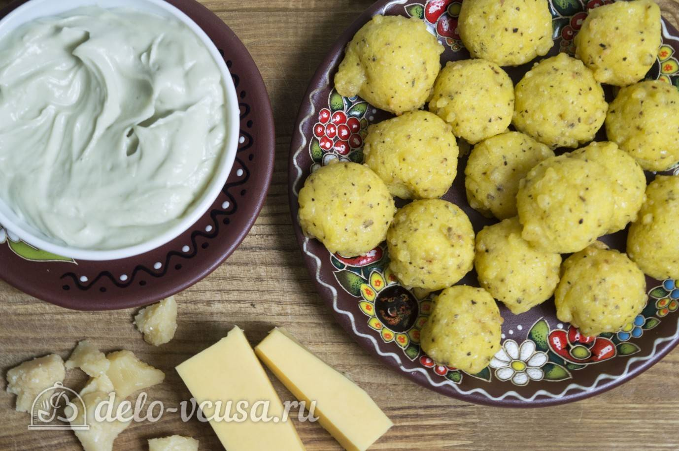 Картофельные шарики-зразы с грибами