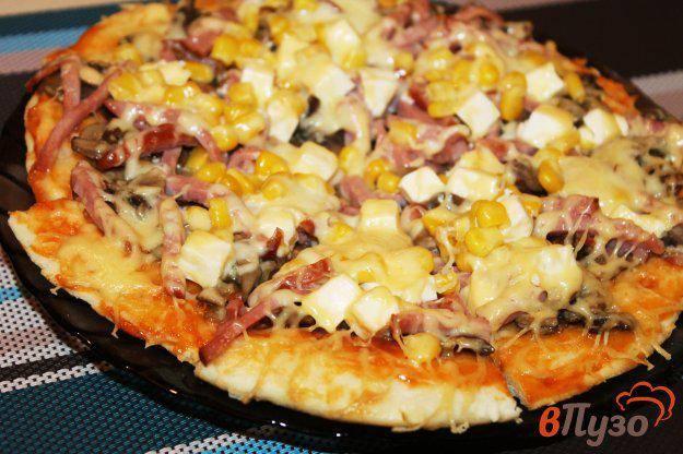 Пицца с мясом, рецепт с фото, как приготовить домашнюю пиццу с мясом?