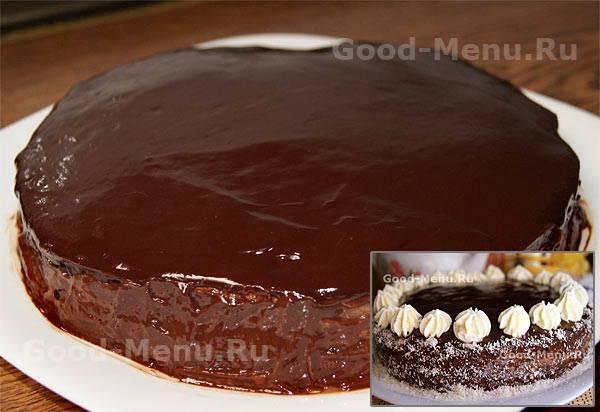Шоколадная глазурь для торта: рецепты