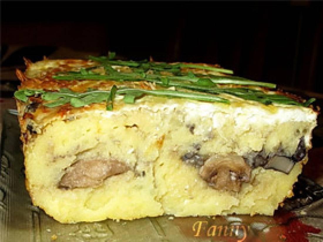Вкуснейшие картофельные запеканки с грибами