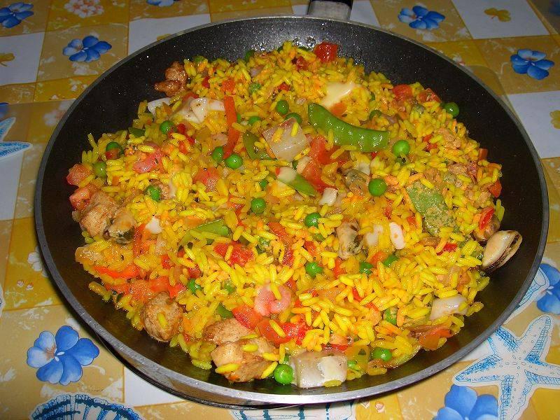 Паэлья с курицей: рецепт приготовления. как приготовить паэлью с курицей и креветками?