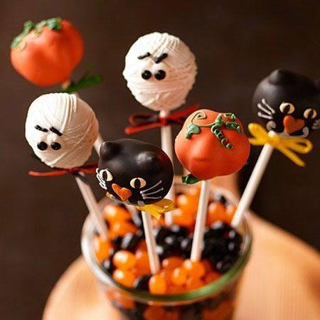 Шоколадные пирожные на хэллоуин - рецепт с фотографиями - patee. рецепты