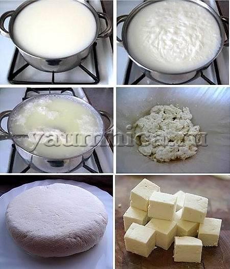 Сыр панир в домашних условиях со специями, рецепт - рецепты