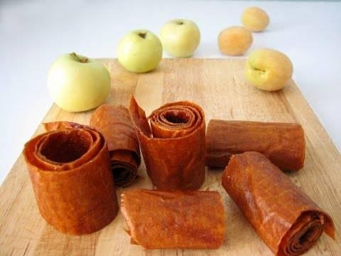 Простые рецепты пастилы из яблок в домашних условиях