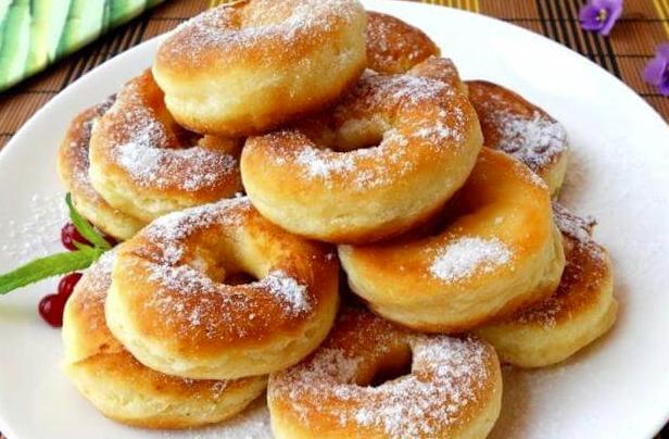 Пончики самые нежные