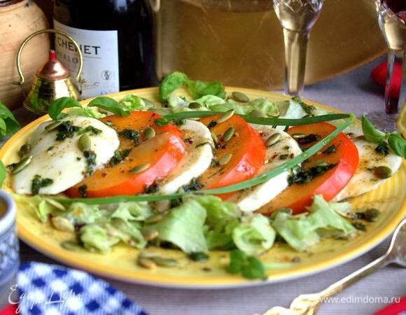 Салат с кетой