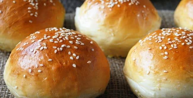 Булочка для гамбургера: рецепт приготовления