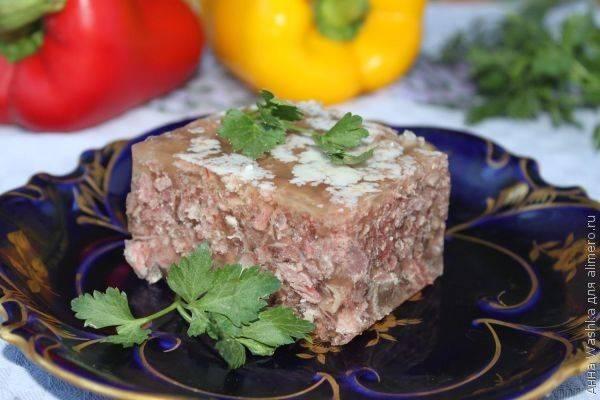 Холодец из говядины и свинины - 10 пошаговых фото в рецепте