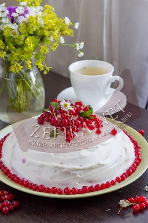 Бисквитный торт со смородиной и вишневым суфле - запись пользователя тоня (akhcenot) в сообществе кулинарное сообщество в категории печенья, пирожные, торты, пончики, кексы - babyblog.ru