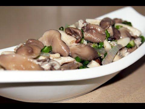 Как подать маринованные грибы на праздничный стол