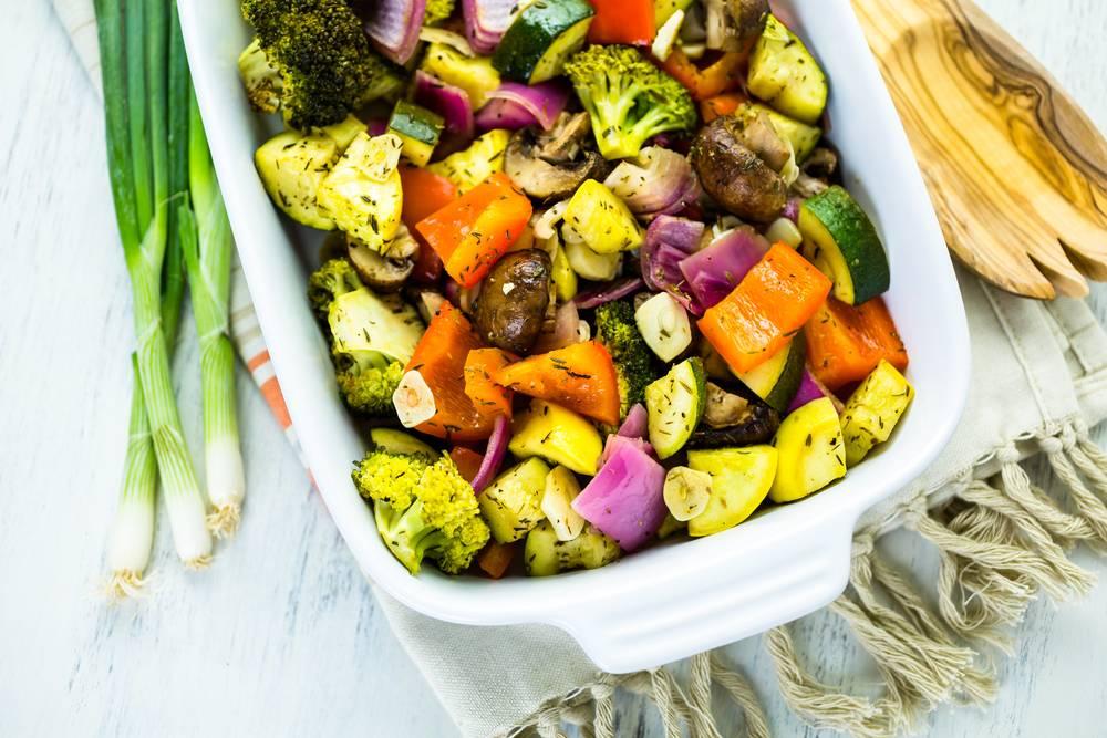 Рецепты блюд из овощей в духовке