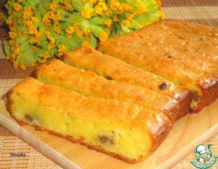 """Торт """"наполеон"""" апельсиновый"""