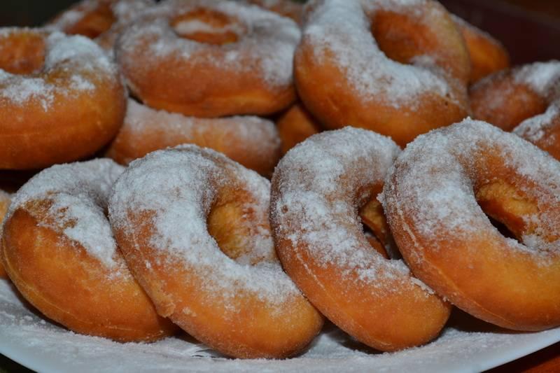Пончики классические - 7 домашних вкусных рецептов приготовления