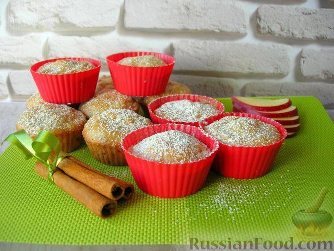 Яблочные маффины: простые и вкусные рецепты