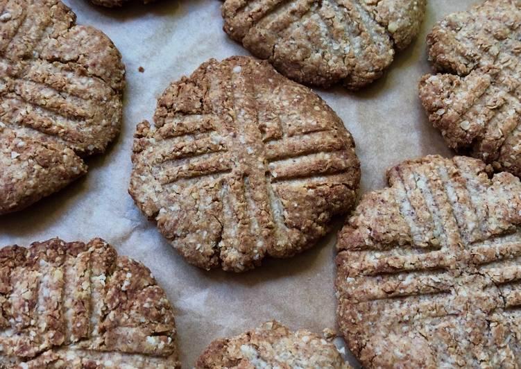 Овсяное печенье за 20 минут